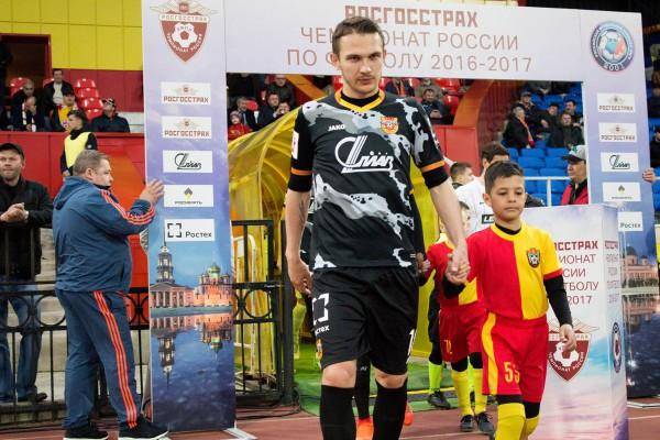 Рекордная сухая серия вратаря «Ростова» прервалась вигре с«Арсеналом»