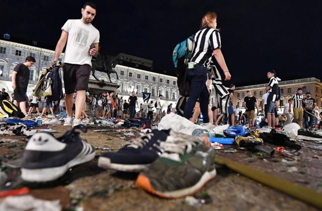 Число пострадавших в итоге давки вТурине превысило 1500