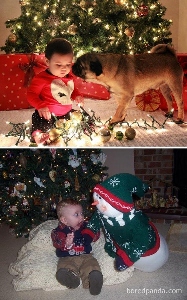 Почти получилось: новогодние фото детей