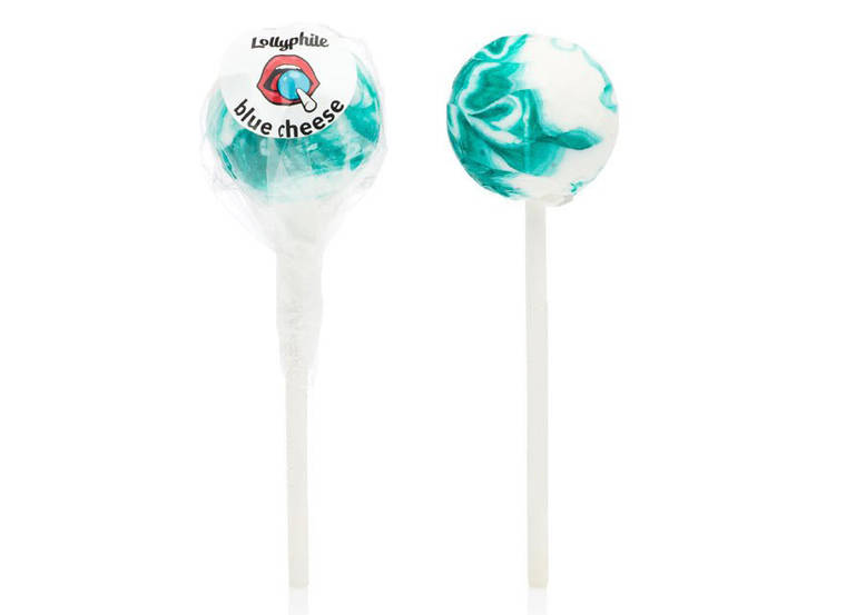 blue cheese lollipops