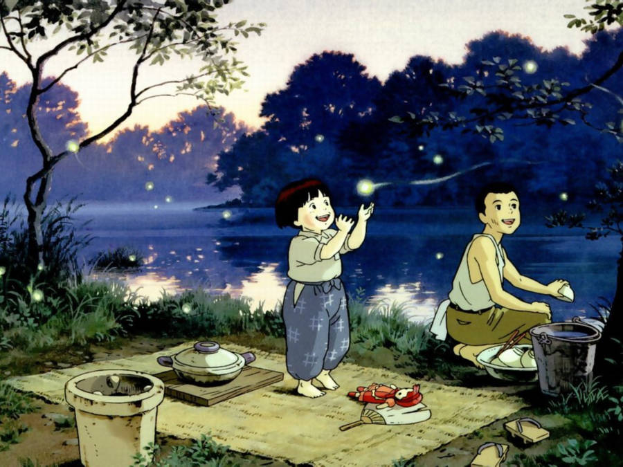 Grave of the Fireflies, 1988.