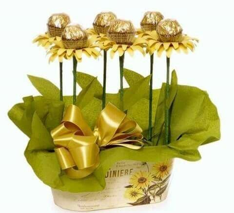 Простые идеи для сладких подарков