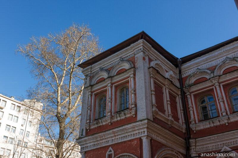 Северо-восточный ризалит, палаты Аверкия Кириллова, Москва