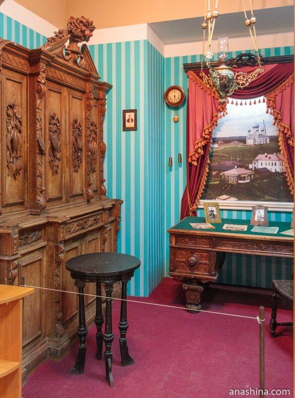 Интерьер богатого дома, Вытегорский краеведческий музей, Вытегра
