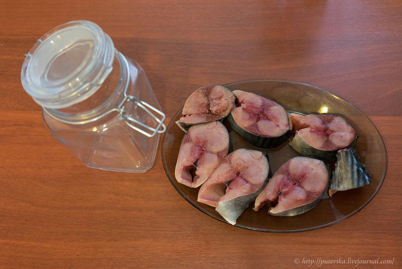 Рецепт засолки скумбрии в домашних условиях без рассола фото