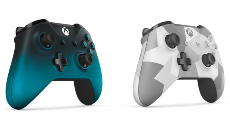 Две новых модели геймпадов для Xbox One скоро в продаже