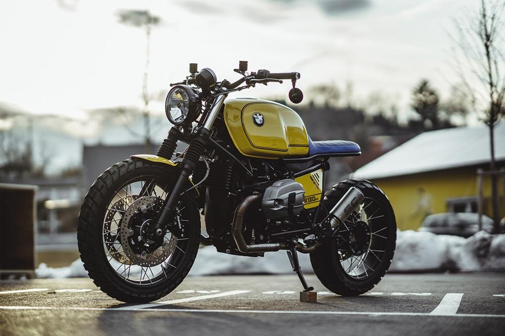NCT Motorcycle: скрэмблер BMW R nineT Gelber Baron