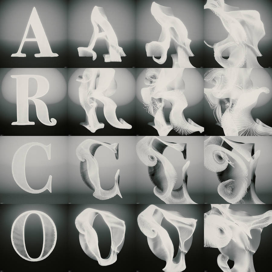 Amazing Digital Typography Project
