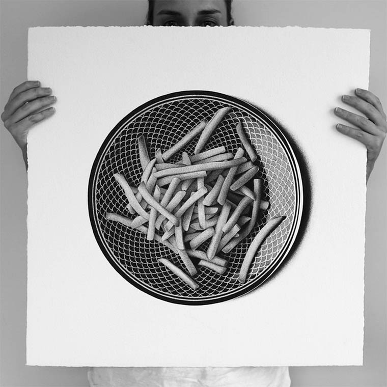 50 shades of food - Les illustrations hyperrealistes de CJ Hendry