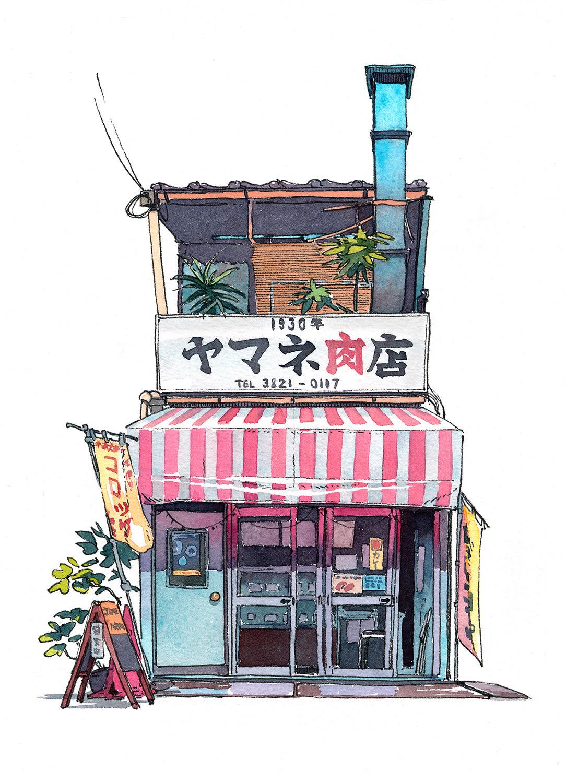 Amazing 'Tokyo Storefront' Illustration Series by Mateusz Urbanowicz (10 pics)