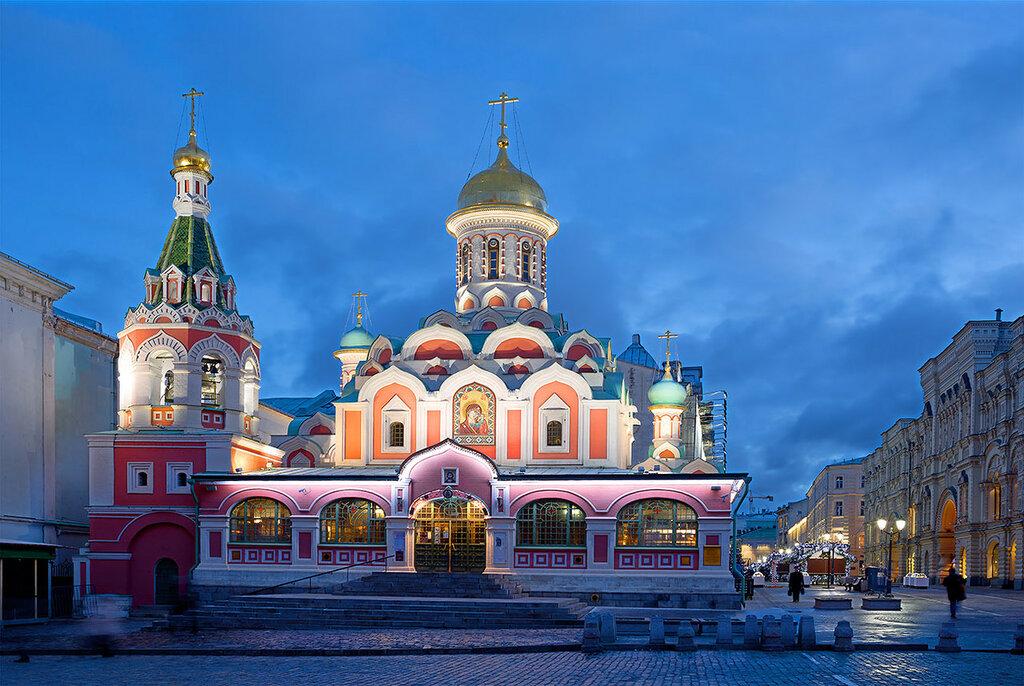 Казанский собор на Красной площади Москвы
