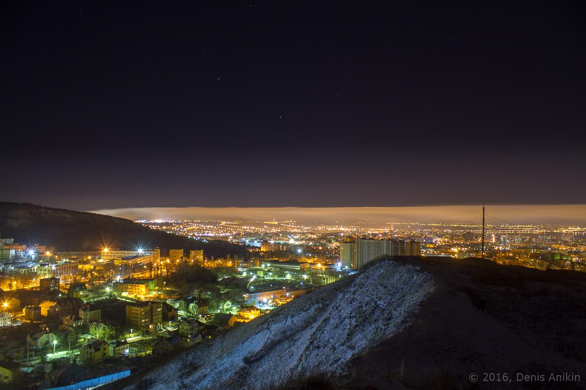 Ночная панорама Саратова фото 2