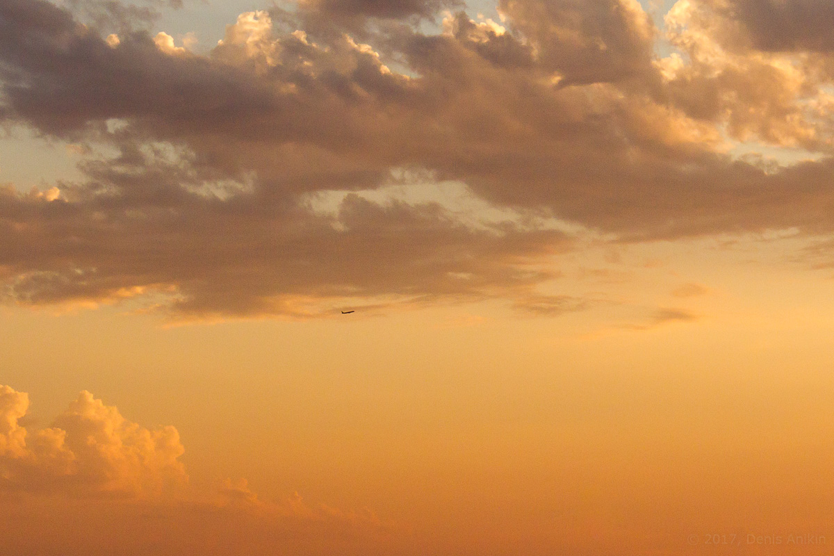 небо самолёт ахун фото 2