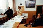 Обсуждение внутренних интерьеров собора.