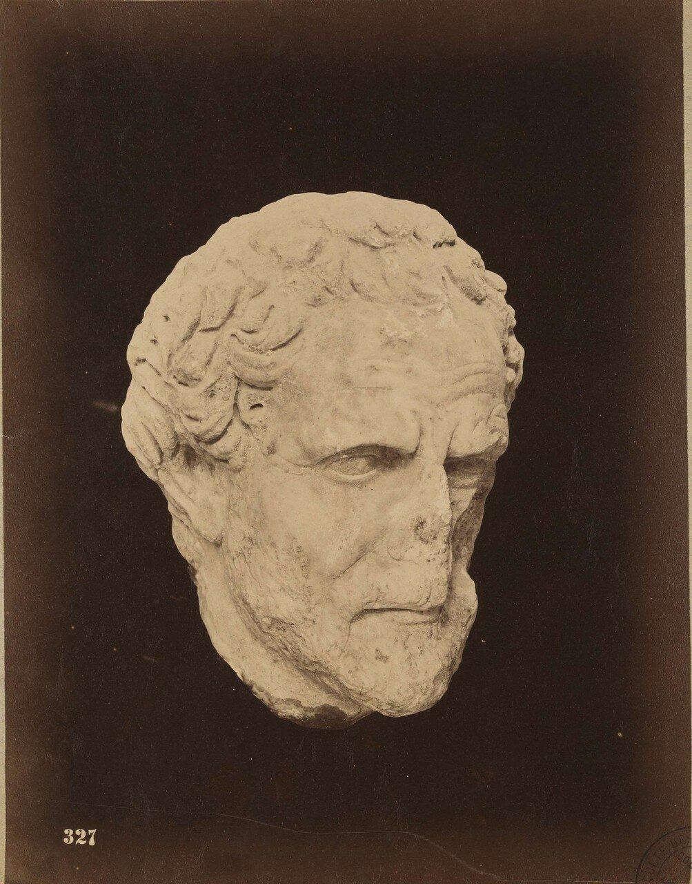 124. Голова философа (фрагмент)