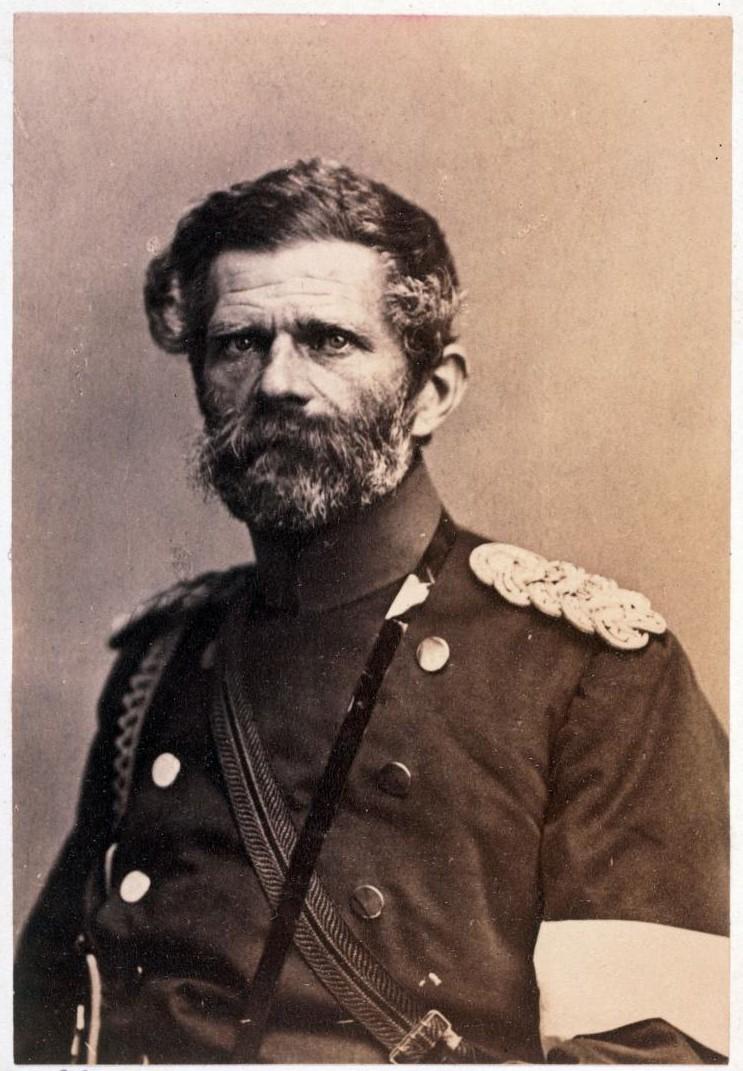 Эдвин Карл Рохус фон Мантейфель (1809 - 1885). С января 1871 года — командующий прусской Южной армией. На этом посту он сумел сорвать наступление 90-тысячной французской Восточной армии во главе с Кленшаном на Бельфор
