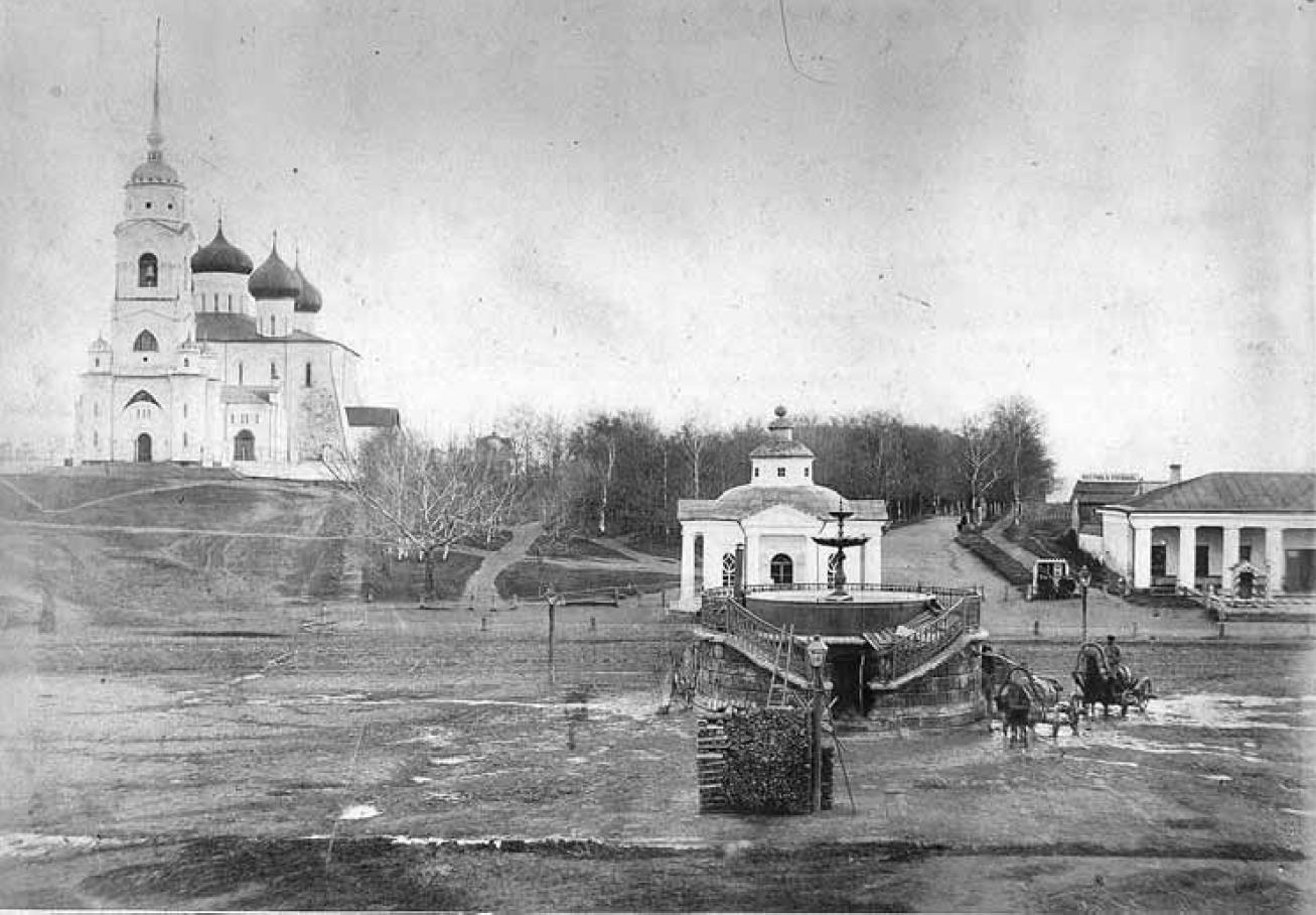 Соборная площадь. Вид с севера. Кукушкин В.Г. 1876-1881