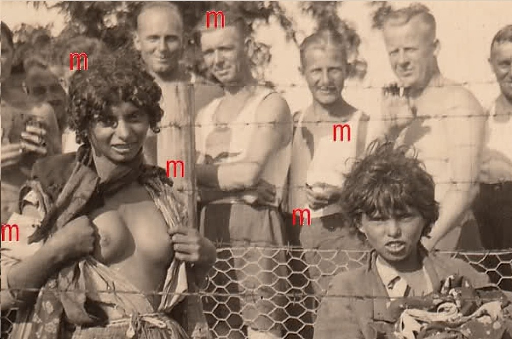 Roma Girls Humiliation WWII 5.jpg