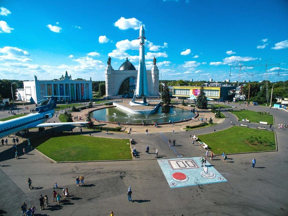 An interesting street art by Canadian artist