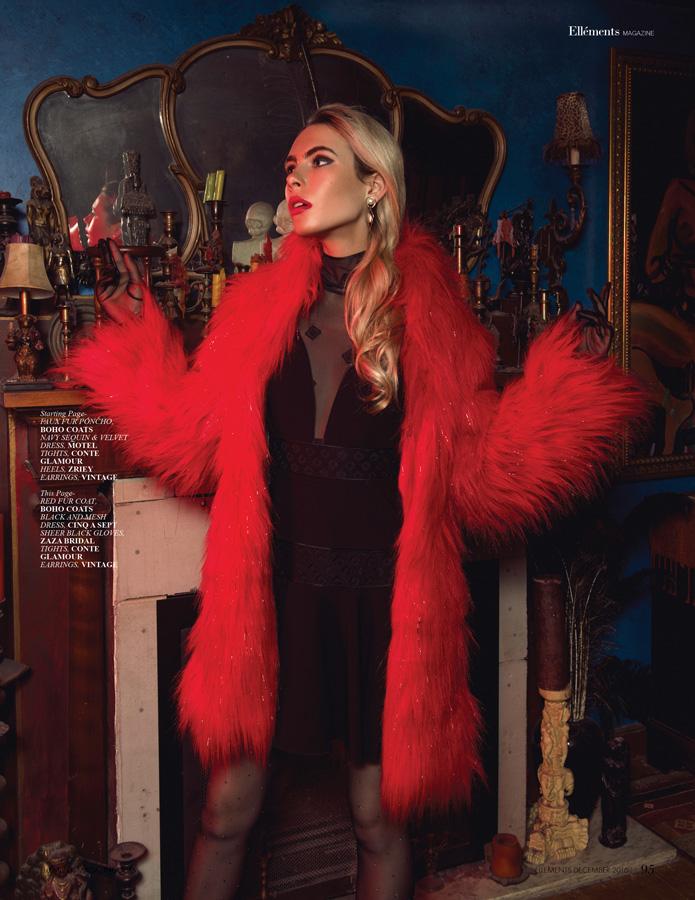 EPOCH ROUGE for Elements Magazine / Alena Sazonova