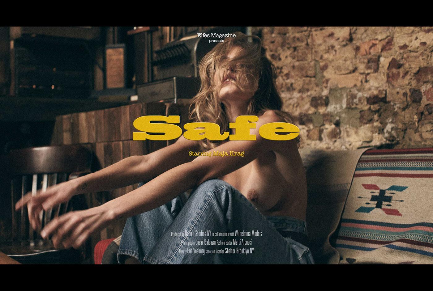 Maja Krag - Elfes Magazine / César Balcazar