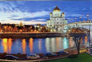 Москва. Храм Христа Спасителя. www.moscowpostcards.ru. MR164. Фото И.Соболев.jpg