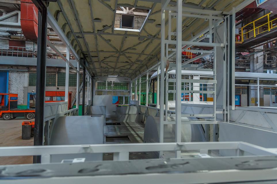 Утепление ворот склада в Усть-Катаве