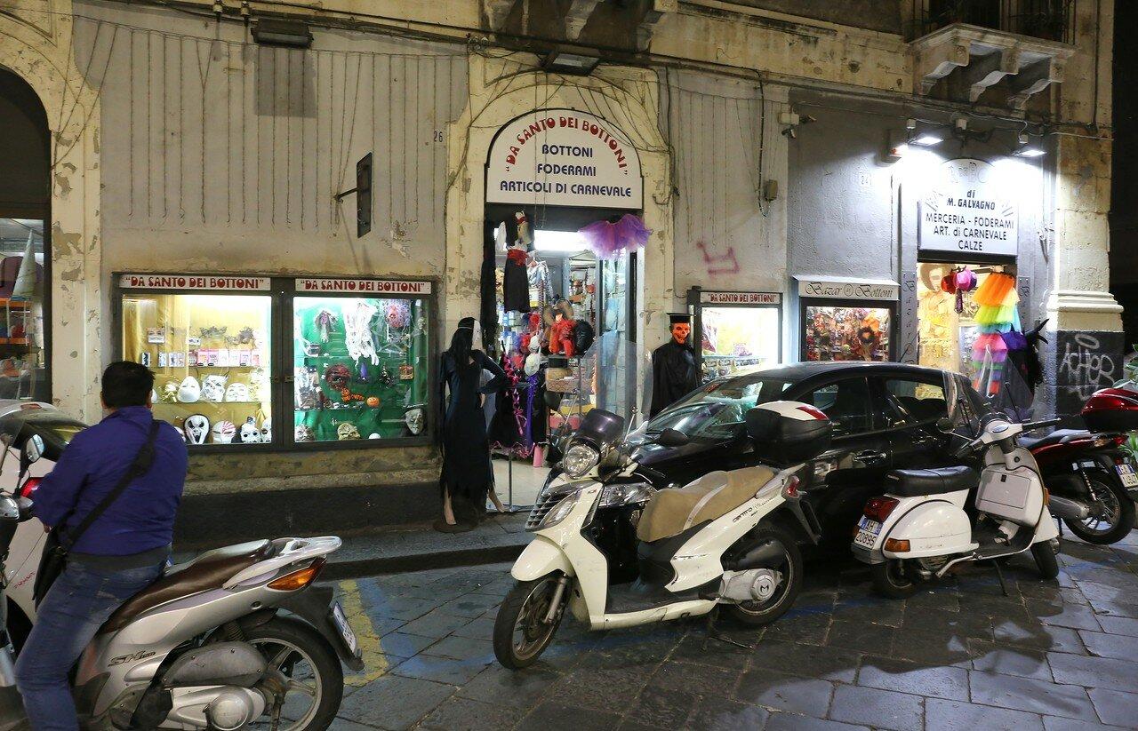 Night walk in Catania