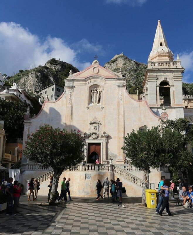 Taormina. The Church of San Giuseppe (Chiesa di San Giuseppe)