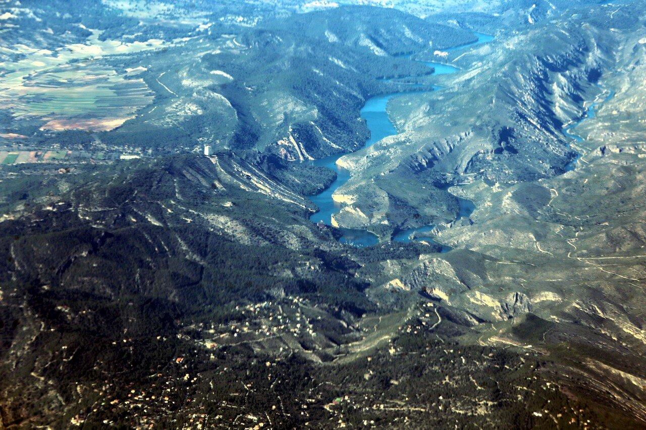 Province of Guadalajara, aerial view