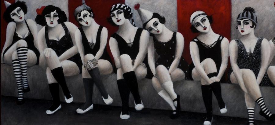Cовременная французская художница Джоанна Перду