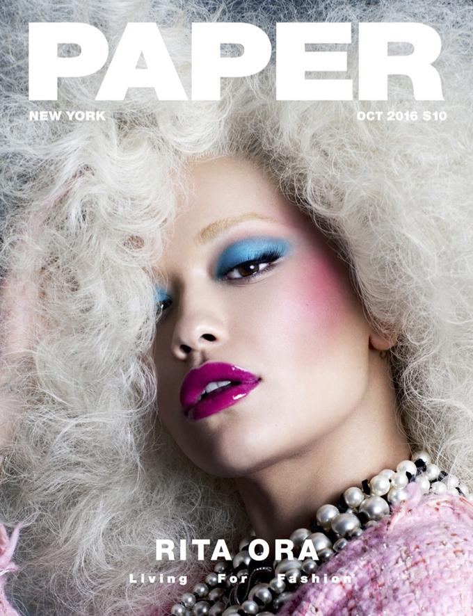 Рита Ора на обложке Paper Magazine