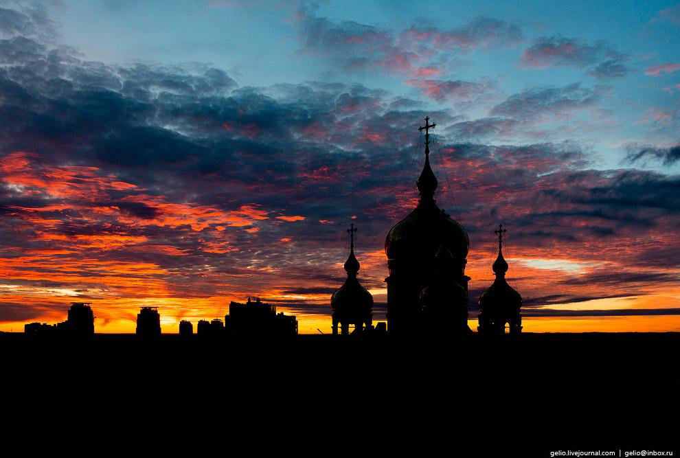 7. Краевой парк имени Муравьёва-Амурского.  Этом место — историческое сердце Хабаровска. 12