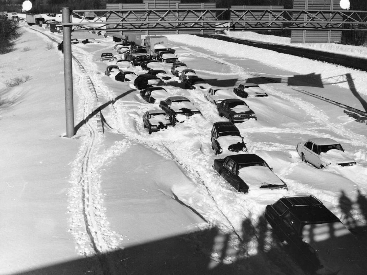 Мощнейшая метель накрыла северо-восточную часть Соединенных Штатов в январе 1978 года. За день выпал