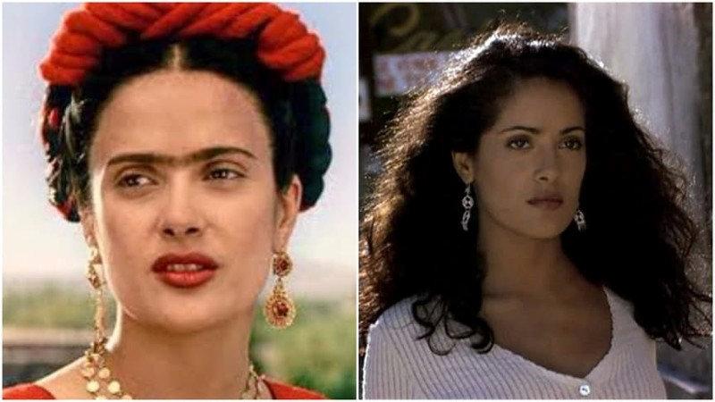 У Сальмы Хайек случился очень запоминающийся дебют в кино в 1995 году в фильме «Десперадо» Родри