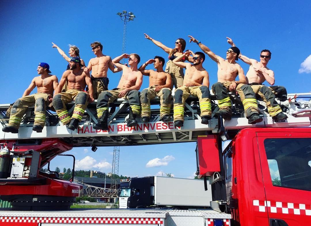 Персона в Instagram: Гунн Нартен, «самая красивая женщина-пожарный»