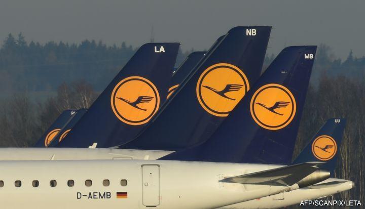 Авиакомпания Lufthansa отменяет вчетверг только 40 рейсов из-за забастовки