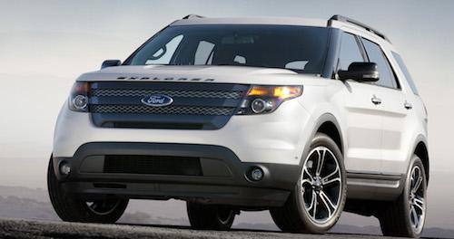 Названы причины отзыва 240 моделей Форд Explorer в РФ
