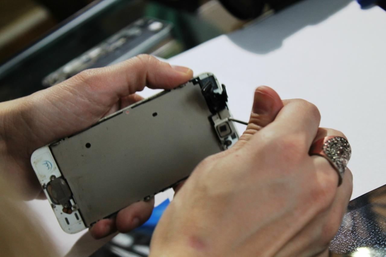 Замена стекла iphone 5s своими руками