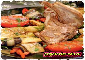 Тапака по-арцахски из мяса ягненка (Армянская кухня)