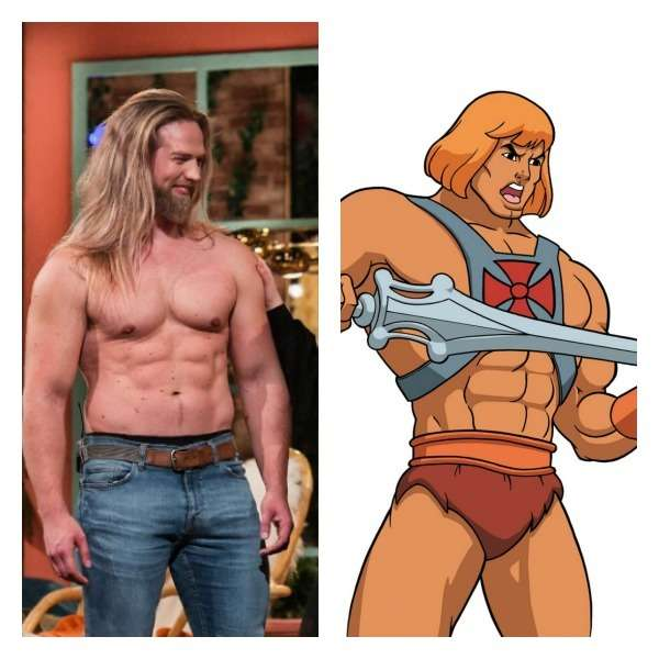 Cartoonish, muscular dude with long blond hair literally describes both of them. 2. The Crims