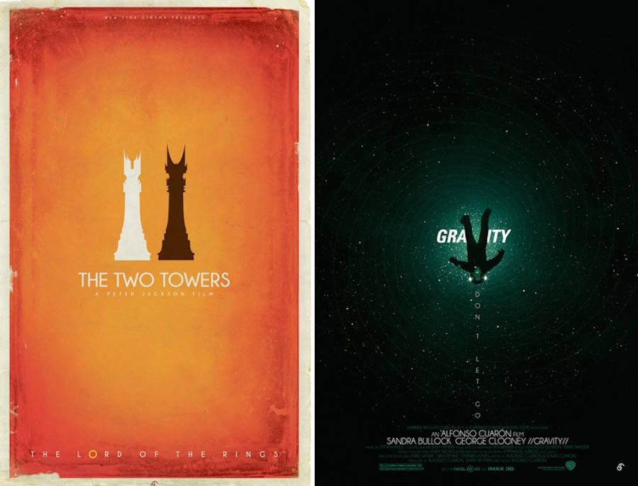 Alternative Movie Posters by Patrick Connan (10 pics)