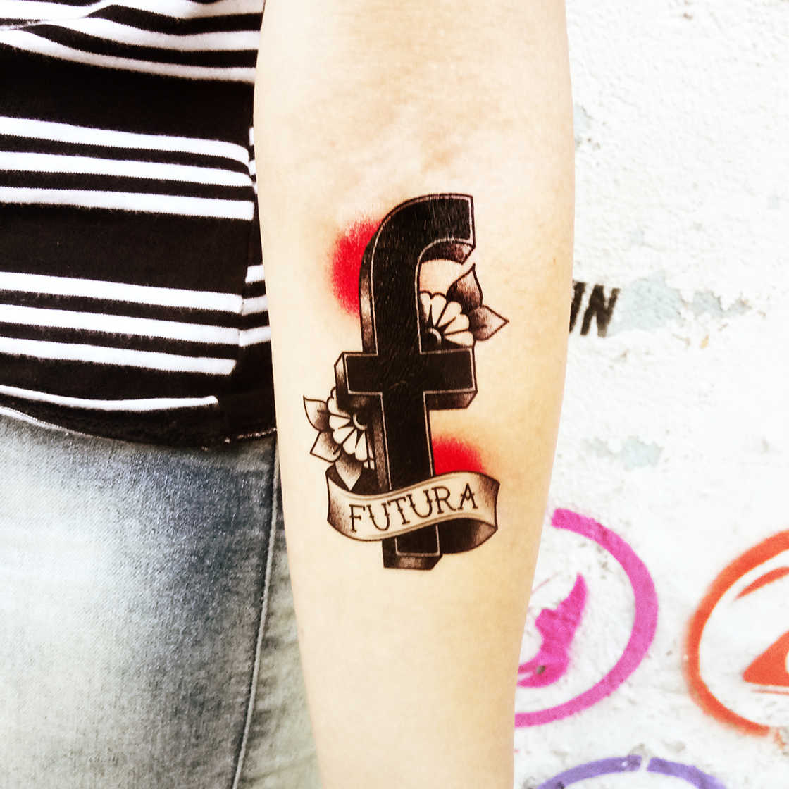 Typeface Tattoos - Beautiful tattoos in tribute to famous fonts