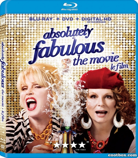 Просто потрясающе / Absolutely Fabulous: The Movie (2016/BDRip/HDRip)