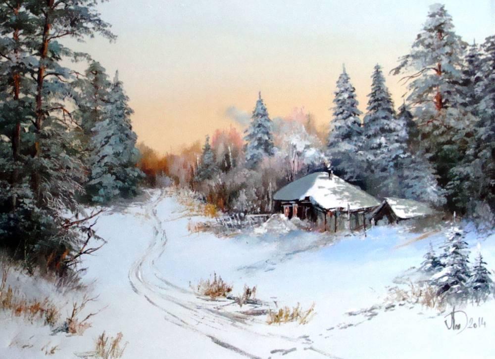 Леднев Александр Алексеевич . Зима..jpg