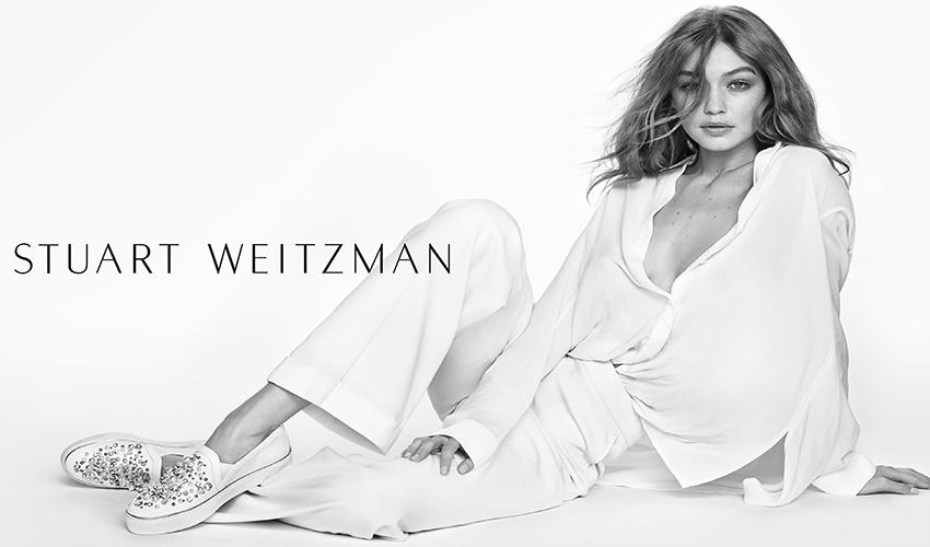 Gigi Hadid - Stuart Weitzman (Spring/Summer 2017)