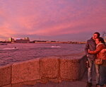 любовь в розовом свете