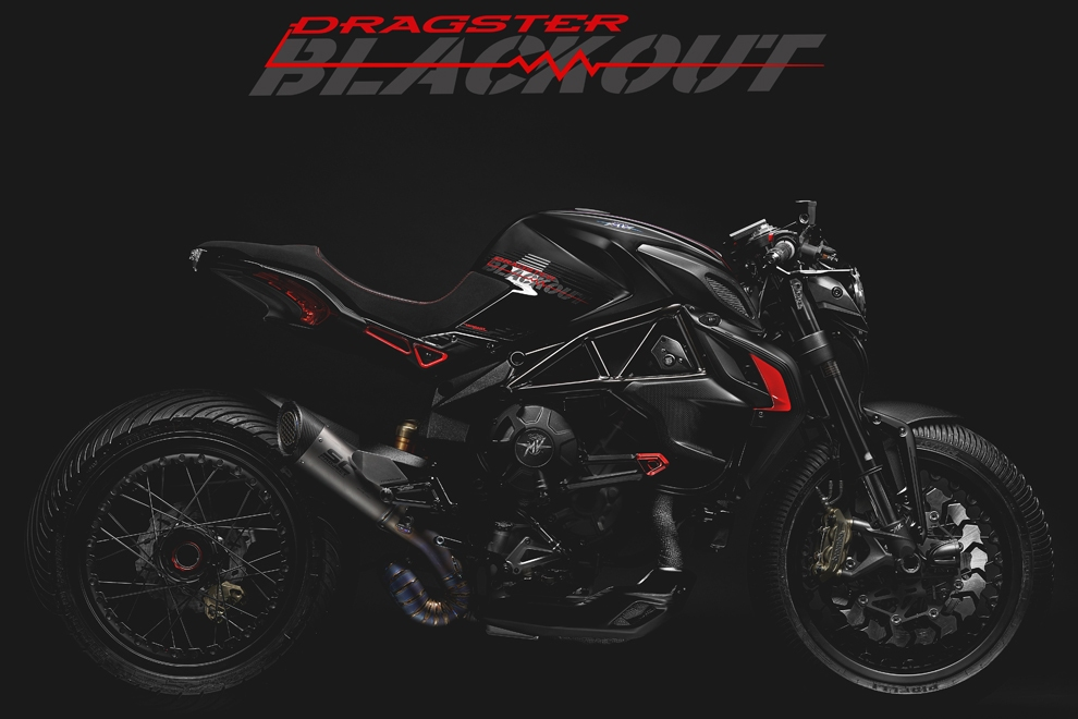 Мотоцикл MV Agusta Dragster Blackout