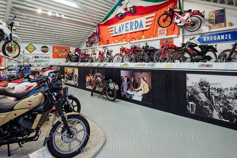 Музей Laverda выставлен на продажу