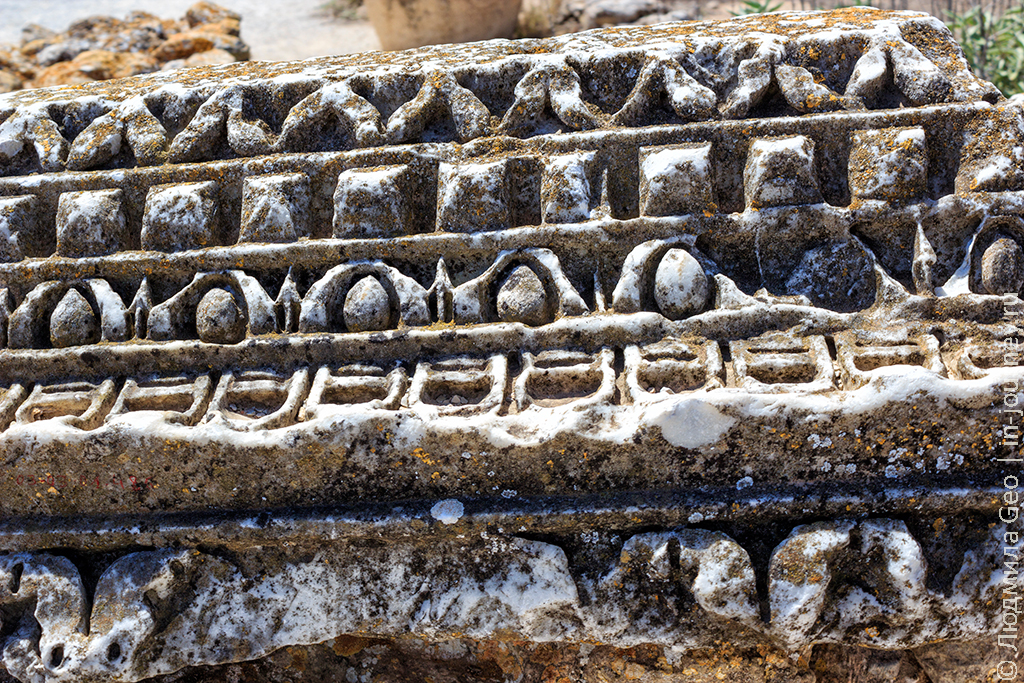 развалины Карфагена фото узор
